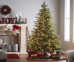 pre lit christmas tree b u0026q home design inspirations