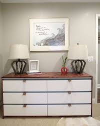 ikea malm drawers the happy homebodies diy ikea malm makeover guest room updates