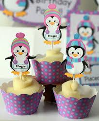 Penguin Baby Shower Decorations Penguin Party Banner Winter Onederland Birthday Penguin Or