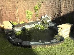 Garden Pond Ideas Small Garden Pond Ideas Backyard Landscaping With Small Pond