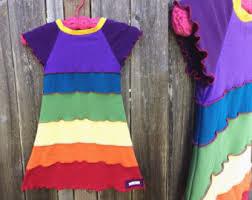 rainbow dress etsy