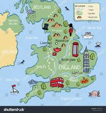Map Of London England by Map Of England For Children London Map