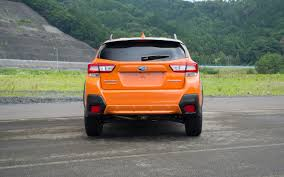 subaru orange crosstrek comparison subaru crosstrek limited 2018 vs infiniti qx30