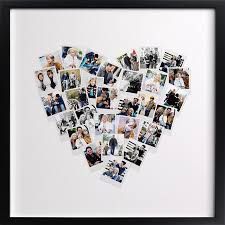 photo gifts fab gift idea heart snapshot mix photo art from minted shop
