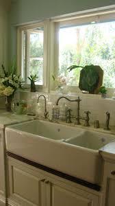 kitchen sink window ideas apron front kitchen sink window faucet best farmhouse faucets