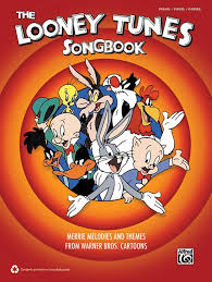 looney tunes songbook piano vocal guitar book