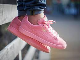 light pink mens shoes puma suede classic wmns pastel pack pink by raph is a joke