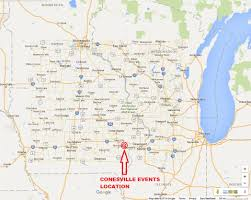 Rap Map Conesville Events Maps Page With Zoomed Facility Detail Out To