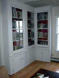 Billy Bookcases With Doors Bookcases With Doors Ikea White Bookcase With Doors Amazing Corner