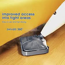 inlife steam mop with adjustable steam 360 degree floor cleaner