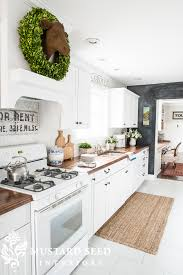 Quality Kitchen Makeovers - 10 fab farmhouse kitchen makeovers where they painted the