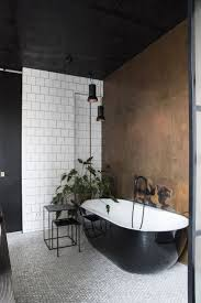 black and white bathroom decorating ideas black white high glossy