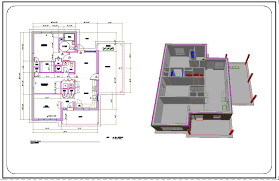 i will do 2d architectural services
