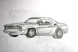 classic cars drawings muscle car drawing javo gt 2017 jul 14 2011