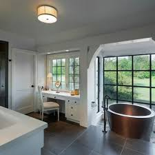 Grey Slate Tile Bathroom Best 25 Slate Tile Bathrooms Ideas On Pinterest Granite Shower