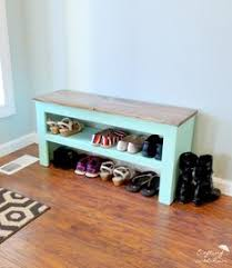 How To Build A Shoe Rack Bench Shoe Bench My Crib Pinterest Shoe Bench Benches And Bench