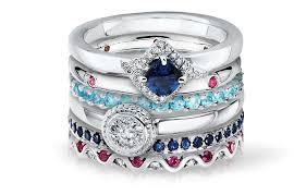fashion gemstone rings images Jared layering rings stacking rings jared jpg
