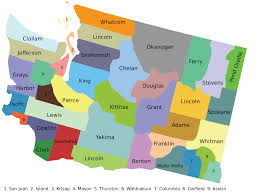 Map Of Washington by File County Map Of Washington State Svg Wikimedia Commons