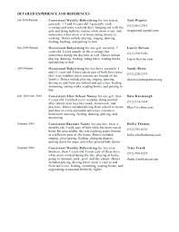 nanny resume exles professional nanny resume