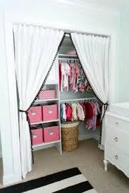 Replace Sliding Closet Doors With Curtains Replace Sliding Closet Doors With Curtains Door Makeovers