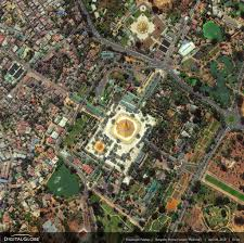 Satellite View Maps Satellite Views And Political Maps Of South East Asia