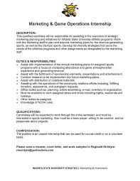 department of sport management internship opportunities