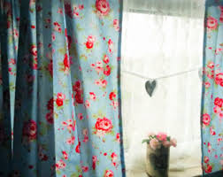Shabby Chic Floral Curtains by Shabby Chic Curtains Window Treatments Window Curtains