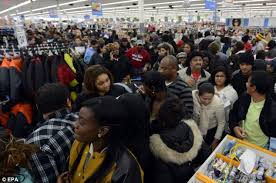 walmart led tv black friday black friday one man is stabbed in row over parking space and