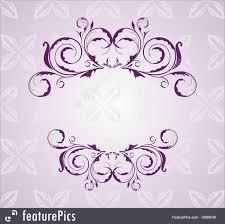templates purple floral background stock illustration i2886546