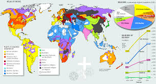 Map Of The World Poster by Religions Of The World Travel Maps Pinterest Religion