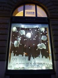 Commercial Christmas Window Decorations by Interactive Christmas Window Display By Wellen Prague Design