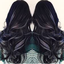 black grey hair the 25 best black and silver hair ideas on pinterest black and
