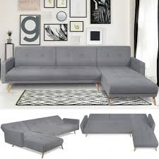 canapé d angle convertible gris canapé d angle convertible helge réversible gris scandinave meuble