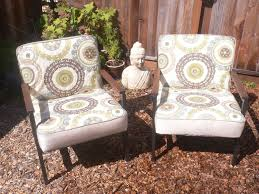 good conversation with beautiful vintage accent chairs all home