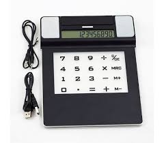 calculator hub 5 in 1 mouse pad with speakers calculator light 4 port usb hub