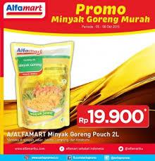 Minyak Goreng Di Alfamart Hari Ini alfamart promo minyak goreng murah periode 5 8 oktober 2015