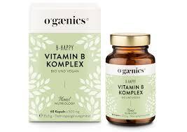 B Otisch Ogaenics B Happy Vitamin B Komplex Vegan Bio Kaufen