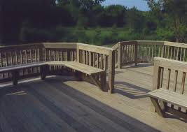 deck seating pictures deck design and ideas
