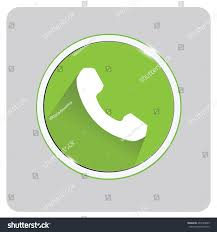 phone icon phone icon call button white phone on stock vector 404186665