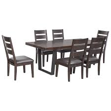 dining room modern dining set with bench trendy dining room sets