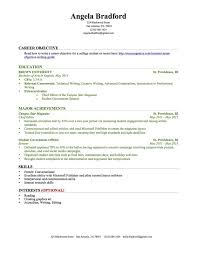 Sample Resume For Accounting Internship Accounting Internship Resume Sample Internship Resume Sample 4