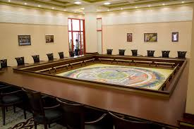 Cool Meeting Table Interior Cool Conference Table With Large Square Design