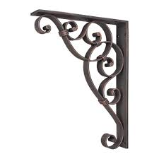 Corbels Brackets Home Tips Metal Corbels For Countertop And Shelf Applications