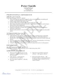 Example Of Objectives For Resume Sales Resume Example