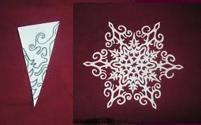 Homemade Christmas Decorations With Paper Making Paper Snowflakes And Garlands Charming Handmade Christmas