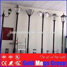 cast iron lighting columns outdoor cast iron aluminum antique garden l poles steel casting