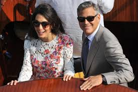 george clooney wedding amal alamuddin and george clooney s wedding rings ritani