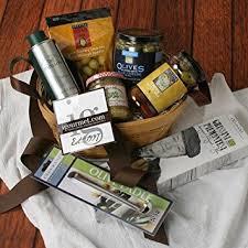 olive gift basket olive lover s gift crate 4 5 pound gourmet snacks