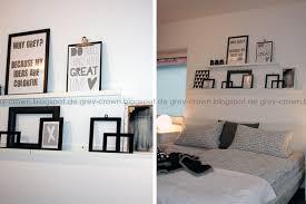 Bilder Im Schlafzimmer Grey Crown Blick Ins Schlafzimmer