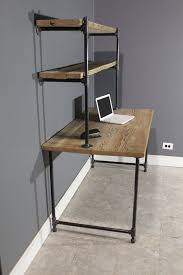 Pipe Desk Extra Thick Pipe Reclaimed Wood Desk Industrial Desk by Creative Diy Computer Desk Ideas For Your Home Diy Computer Desk